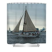 Skipjack Shower Curtain