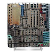 Skyline Of Manhattan - New York City Shower Curtain