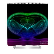 smoke XIX Shower Curtain