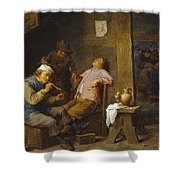 Smokers And Drinkers Shower Curtain