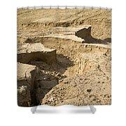 Soil Erosion Shower Curtain