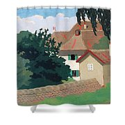 Souvenir De Romanel Shower Curtain