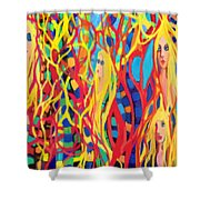 Spring Fever Shower Curtain