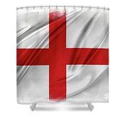 St George's Cross Shower Curtain