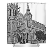 St. Mary Cathedral Shower Curtain