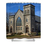 St. Mary Star Of The Sea Shower Curtain