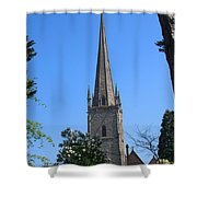 St Mary The Virgin Ross-on-wye Shower Curtain