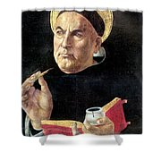 St. Thomas Aquinas Shower Curtain