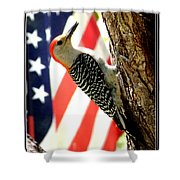 Stamps North American Wildlife. Shower Curtain