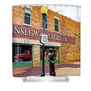 Standing On The Corner - Winslow Arizona Shower Curtain
