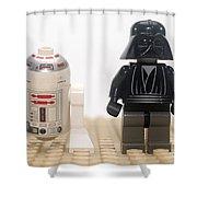 Star Wars Action Figure  Shower Curtain