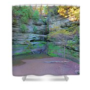 Starved Rock Ill, Shower Curtain