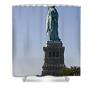 Statue Of Liberty. Shower Curtain