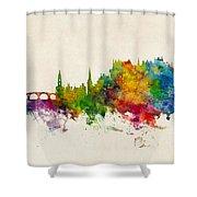 Stirling Scotland Skyline Shower Curtain