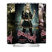 Sucker Punch Shower Curtain