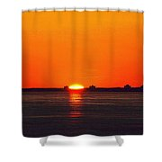 Sun Crown Two  Shower Curtain