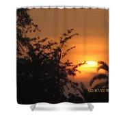 Sun View Shower Curtain
