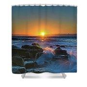 Sunrise And The Sea Shower Curtain
