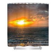 Sunrise At Kapaa - Kauai Shower Curtain