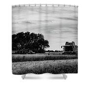 Sunset Harvest Shower Curtain