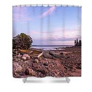 Sunset In New England Shower Curtain
