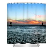 Sunset Key West  Shower Curtain