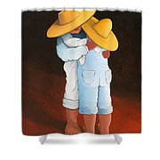 Sweet Embrace Shower Curtain