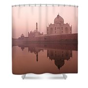 Taj Mahal At Dawn Shower Curtain