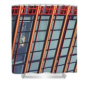Tall Building Showing Colors #2 Shower Curtain