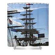 Tall Ship Shower Curtain