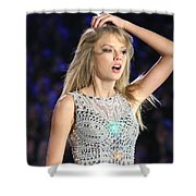 Taylor Swift Shower Curtain
