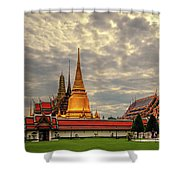Temple Shower Curtain