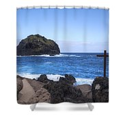 Tenerife - Garachico  Shower Curtain