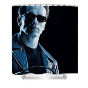 Terminator 2 Judgment Day Shower Curtain