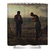 The Angelus Shower Curtain