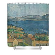 The Bay Of Marseilles Shower Curtain