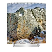 The Big Rock Shower Curtain
