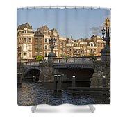 The Bridges Of Amsterdam Shower Curtain
