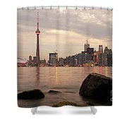 The City Of Toronto Shower Curtain