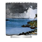 The Coming Storm Shower Curtain