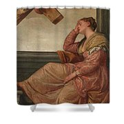 The Dream Of Saint Helena Shower Curtain