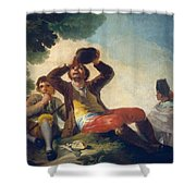 The Drinker Shower Curtain