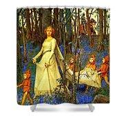 The Fairy Wood Henry Meynell Rheam Shower Curtain