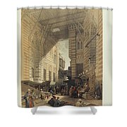The Holy Land Syria Shower Curtain