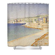 The Jetty At Cassis Opus 198 Shower Curtain