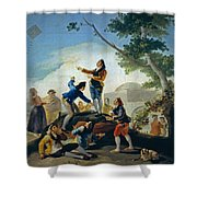 The Kite Shower Curtain