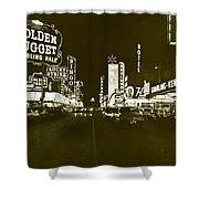 The Las Vegas Strip Shower Curtain
