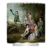 The Lavie Children Shower Curtain