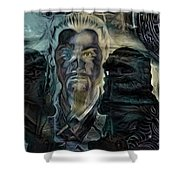 The Lion Emperor  Shower Curtain