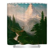 The Matterhorn Shower Curtain